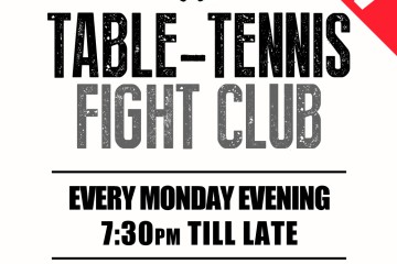 TABLE TENNIS FIGHT CLUB