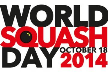 WORLD SQUASH DAY – 18th OCTOBER 2014!!