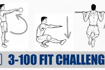 3/100 FIT CHALLENGE