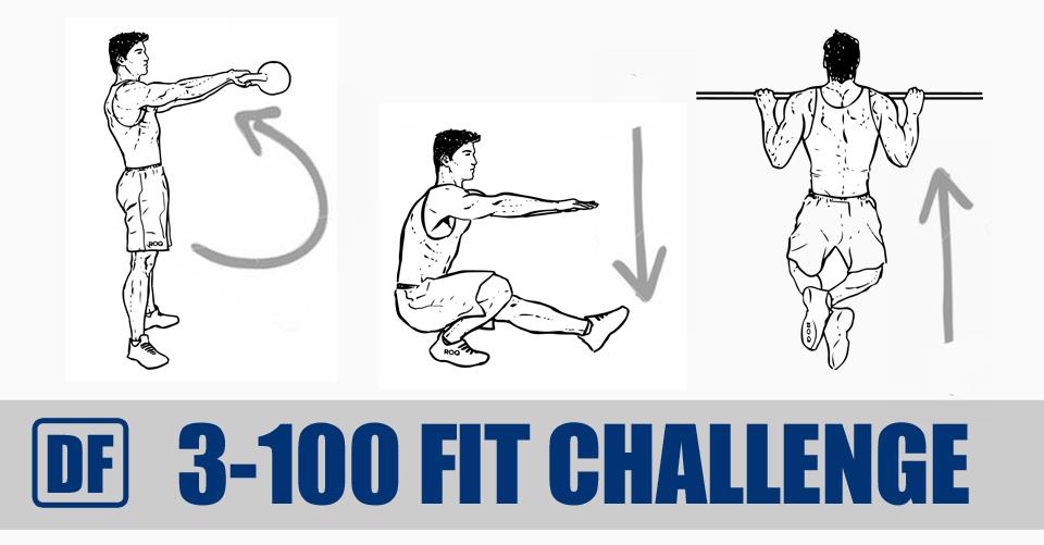 3-100 Fit Challenge