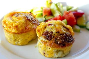Eggy Pancetta Breakfast Muffins – Recipe