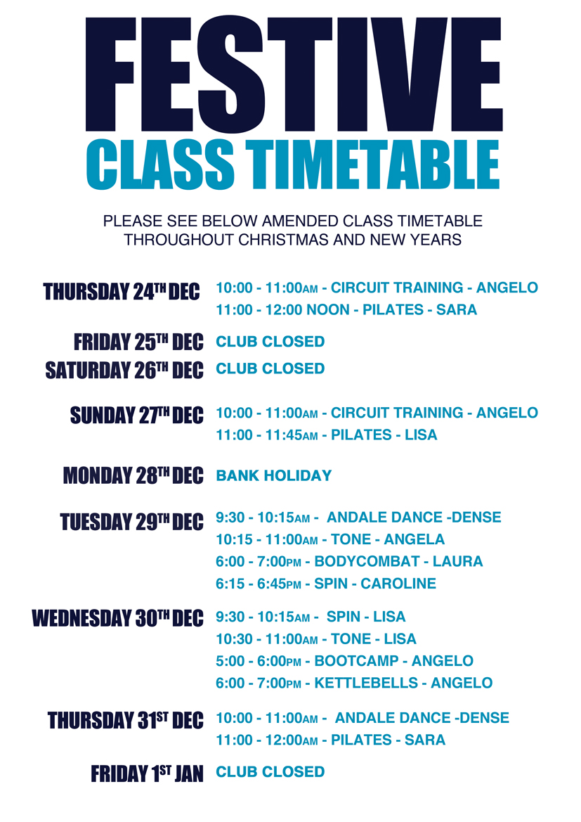 2015-12-09-Christmas-Class-Timetable