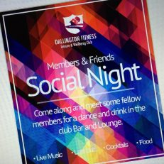 Social Night – Cancelled