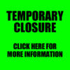 TEMPORARY CLOSURE – ALL PAYMENTS FROZEN